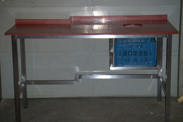 Keuken Werktafel Rvs : RVS_werktafel