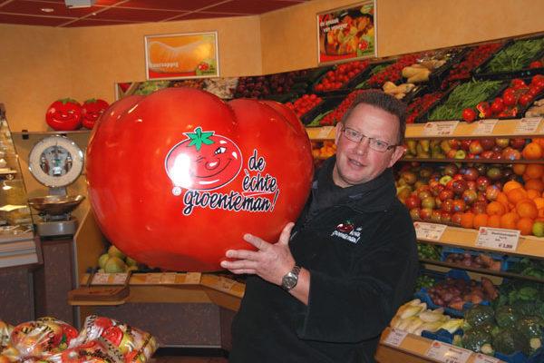 Een reuze tomaat!